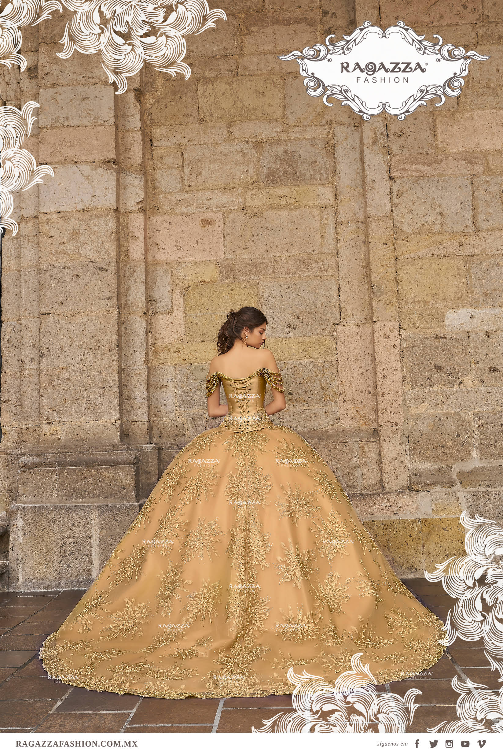 Tendencias 2018 Para Quinceañeras Ragazza Fashion
